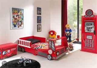 Kinderkamer Inrichten Voorbeelden Ideeën Tips Brandweerkamer