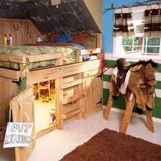 Kinderkamer Inrichten Voorbeelden Paardenkamer