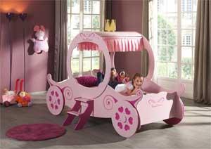 Sprookjeskamer Inrichten Prinsessenbed
