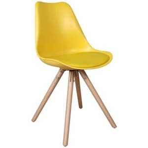 Feel Furniture Olan Gele Designstoel
