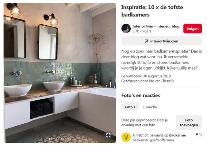 Inspiratie voor een unieke badkamer inrichting 4