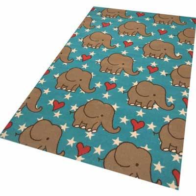 Kinderkamer Vloerkleed Olifant Bambini