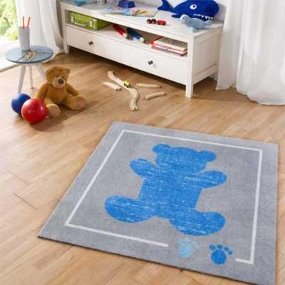 Kinderkamer Vloerkleed Teddybeer