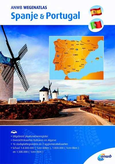 ANWB Wegenatlas Spanje & Portugal