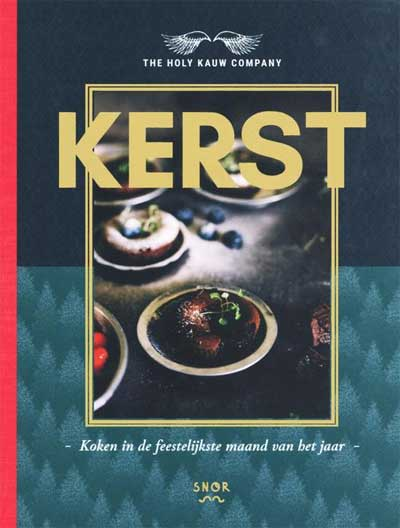 Holy Kauw Company Kerst Kookboek