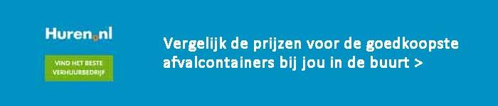 Afvalcontainer Prijs Vergelijken