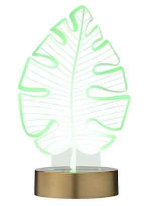 Kleine LED Tafellamp Boomblad