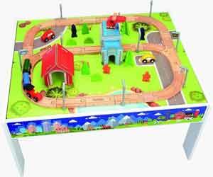 Toytopia houten speeltafel met trein