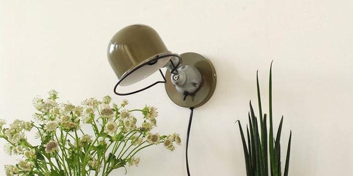 Voor een muurlamp of badkamerlamp hoef je de deur niet uit
