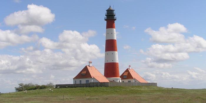 Duitse Noordzeekust eilanden plaatsen en bezienswaardigheden