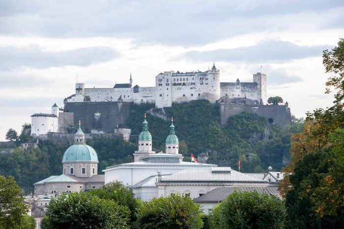 Grootste Oostenrijkse Steden Salzburg