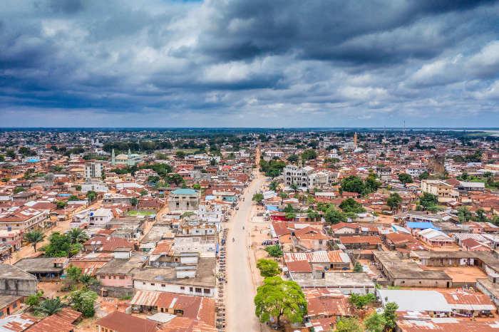 Afrikaanse hoofdsteden - Hoofstad land in Afrika Porto-Novo in Benin